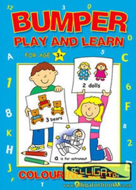 Bumper Play and Learn Colouring Book P/B (FS) by Alligator Books