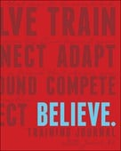 Believe Training Journal (Classic Red, Updated Edition)