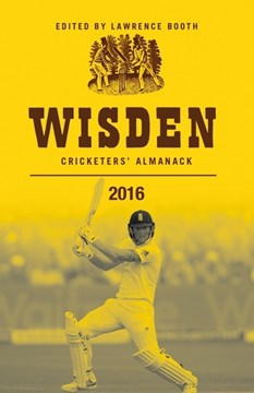 Wisden cricketers' almanack 2016 by Lawrence Booth
