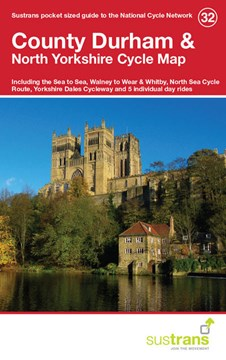 County Durham & North Yorkshire Cycle Map 32 by Sustrans