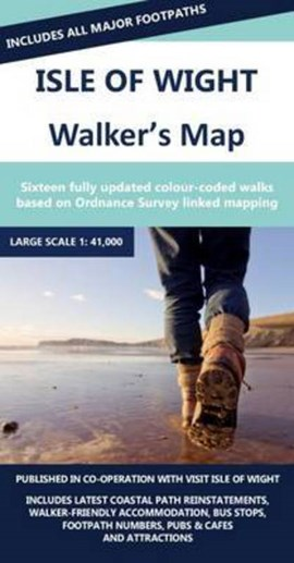 Isle of Wight Walkers Map by