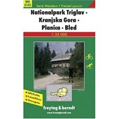 National Park Triglav - Kranjska Gora - Planica - Bled Hiking + Leisure Map 1:35 000