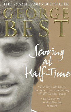 Scoring at half-time by George Best