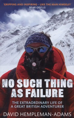 No such thing as failure by David Hempleman-Adams