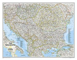 The Balkans Classic, Tubed by National Geographic Maps
