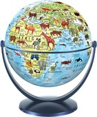 Animal World Globe 15cm
