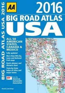 USA BIG ROAD ATLAS  2016 AA by