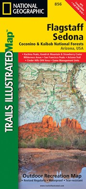 Flagstaff/sedona, Coconino & Kaibab National Forests by National Geographic Maps