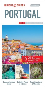 Insight Guides Travel Map Portugal by Insight Guides