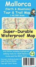 Mallorca North & Mountains Tour & Trail Super-Durable Map