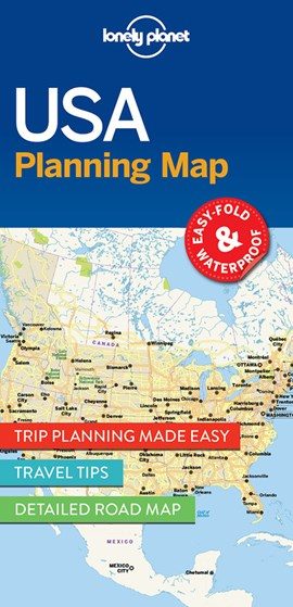 USA Planning Map by Lonely Planet
