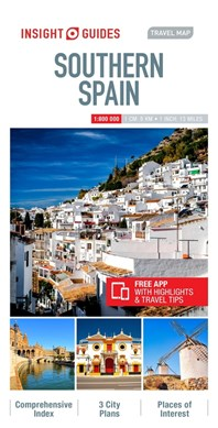 Insight Guides Travel Map Southern Spain by Insight Guides