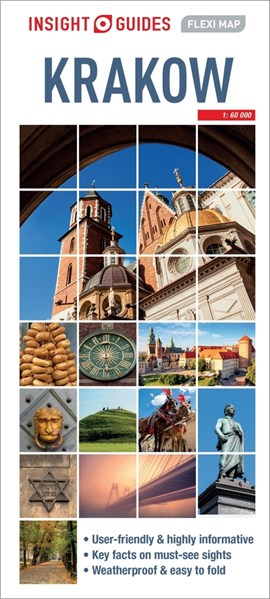 Insight Guides Flexi Map Krakow by Insight Guides
