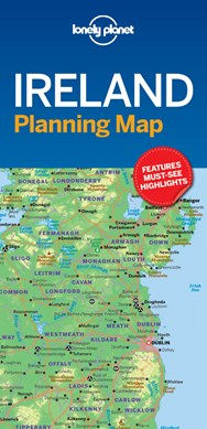 Lonely Planet Ireland Planning Map by Lonely Planet