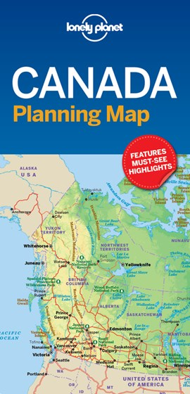 Lonely Planet Canada Planning Map by Lonely Planet