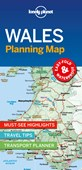 Lonely Planet Wales Planning Map