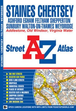 Staines Street Atlas by Geographers' A-Z Map Company