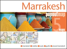 Marrakesh PopOut Map by PopOut Maps