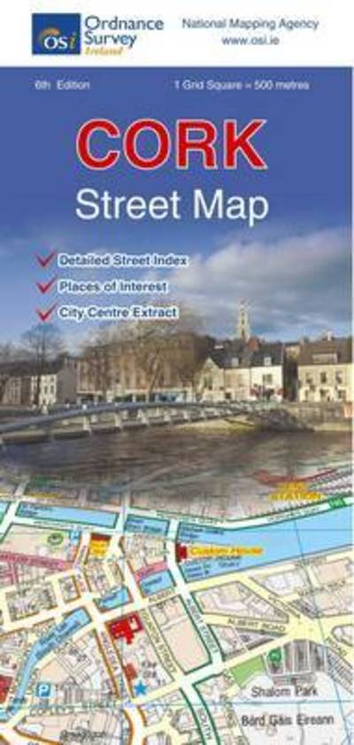 Os Map Of Ireland.Cork Street Map Ordnance Survey Ireland