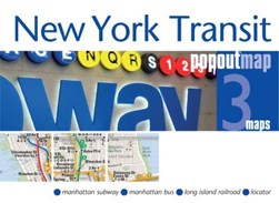 New York Transit PopOut Map by PopOut Maps
