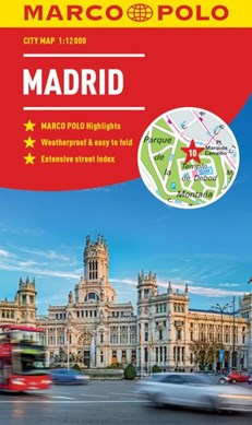 Madrid Marco Polo City Map by Marco Polo