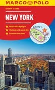 New York Marco Polo City Map - pocket size, easy fold, New York street map