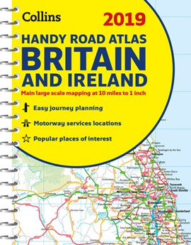 2019 Collins Handy Road Atlas Britain And Ireland by Collins Maps