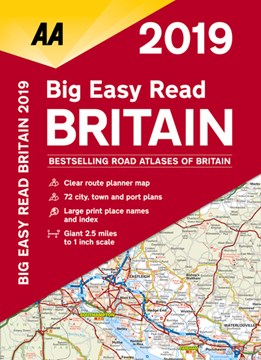 Big Easy Read Britain 2019 SP by AA Publishing