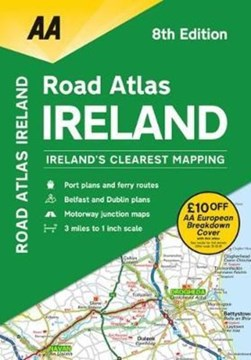 AA Road Atlas Ireland 2019 by AA Publishing