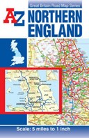 Northern England Road Map