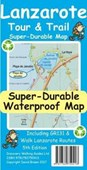 Lanzarote Tour & Trail Super-Durable Map