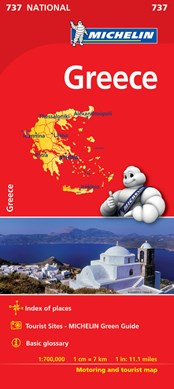 Greece - Michelin National Map 737 by