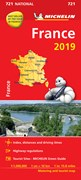France 2019 - Michelin National Map 721