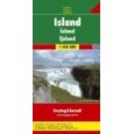 Iceland Road Map 1:400 000 by