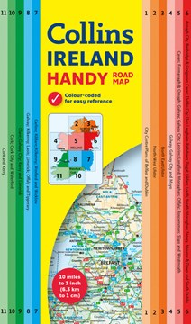 Collins Handy Map Ireland by Collins Maps