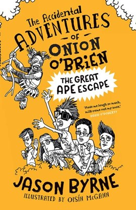 The great ape escape by Jason Byrne