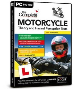 The Complete Motorcycle Theory and Hazard Perception Tests by