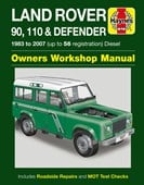 Land Rover 90, 110 & Defender diesel service and repair manual