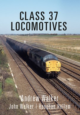 Class 37 locomotives by Andrew Walker