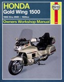 Honda GL1500 Gold Wing owners workshop manual