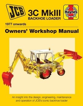 JCB 3C MkIII Backhoe Loader 1977 onwards by Julian Carder