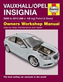 Vauxhall/Opel Insignia owner's workshop manual
