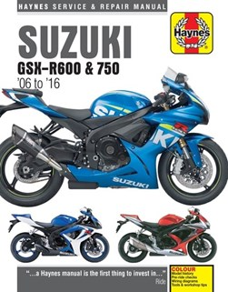 Suzuki GSX-R600 & 750 service and repair manual by Matthew Coombs