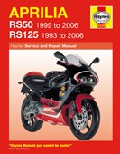 Aprilia RS50 & 125 service repair manual