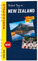 New Zealand Marco Polo Travel Guide - with pull out map