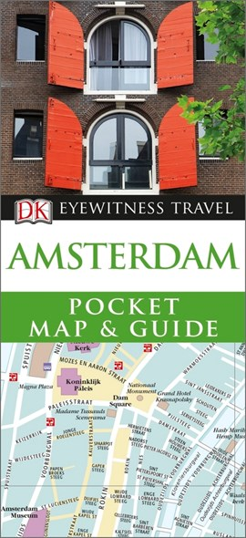 Amsterdam  Eyewitness Pocket Map and Guide by DK Travel
