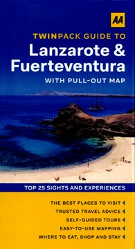 Twinpack guide to Lanzarote & Fuerteventura by Emma Gregg