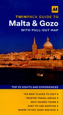 Twinpack guide to Malta & Gozo by Lindsay Bennett