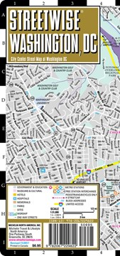 Streetwise Seattle Map - Laminated City Center Street Map of Seattle, Washington by