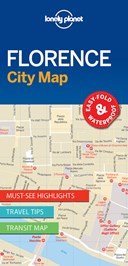 Lonely Planet Florence City Map